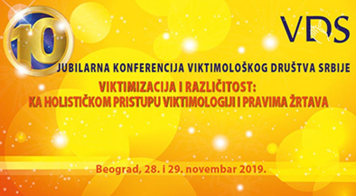 X godišnja konferencija Viktimološkog društva Srbije