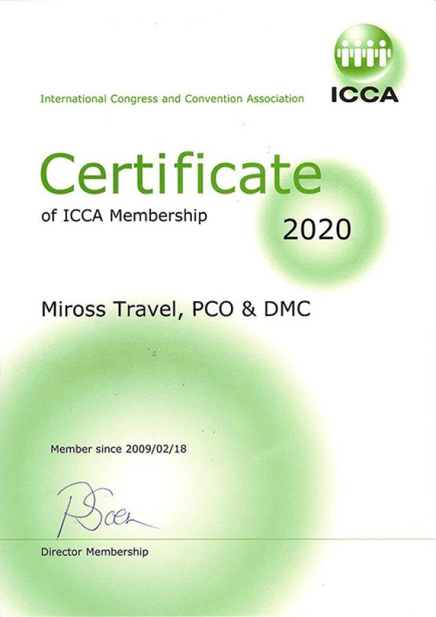 10+ godina član ICCA