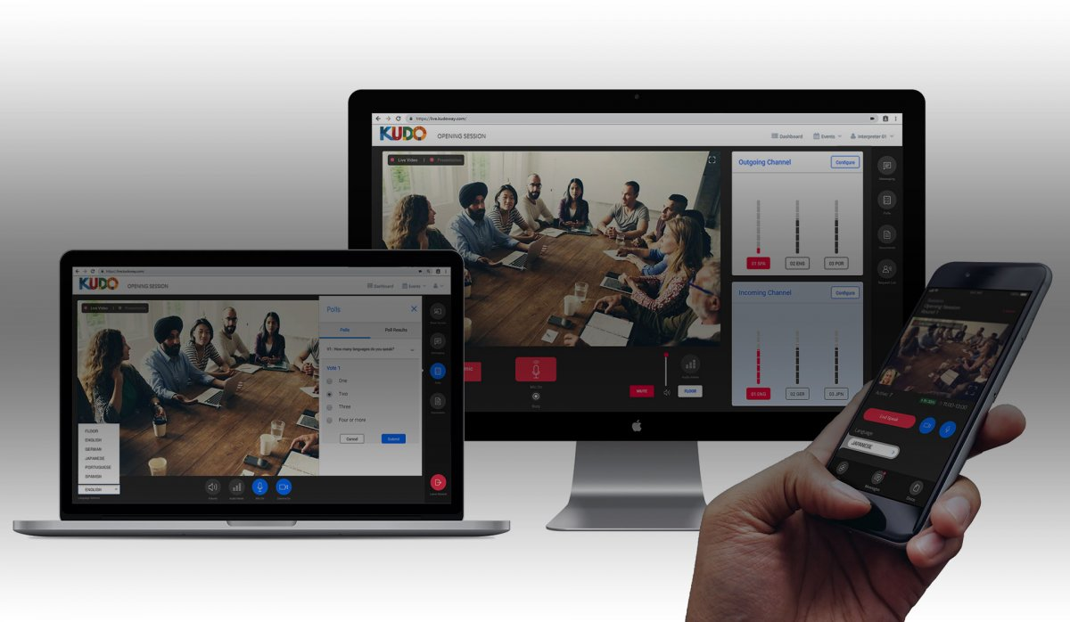 KUDO, world's leading online multilingual platform now available at Miross